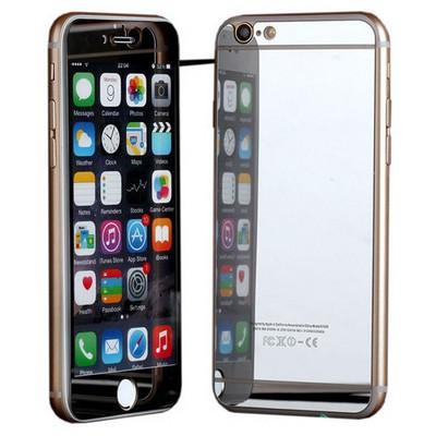 Microsonic Iphone 6s Mirror Temperli Cam Ekran Koruyucu Ön + Arka Gümüş Ekran Koruyucu Film