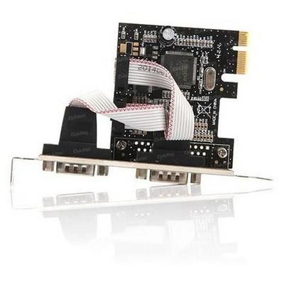 Dark Rs232 2 Port Seri Bağlantı Pcı Express X1 Kar Çevirici Adaptör