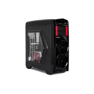 Redrock G903BR Gaming Kasa - Siyah/Kırmızı