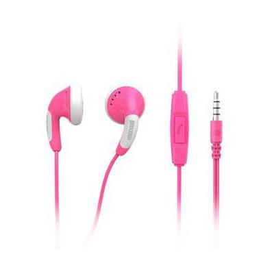 Maxell Colour Budz Pembe Kulaklık Mıc 303752.00.cn Kulak İçi Kulaklık