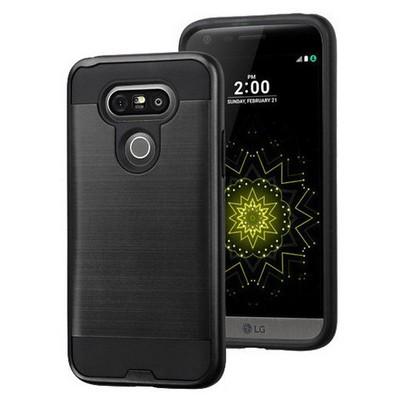 Microsonic Lg G5 Kılıf Slim Heavy Duty Siyah Cep Telefonu Kılıfı