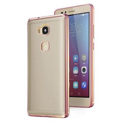 Microsonic Huawei Gr5 (honor 5x/x5) Kılıf Flexi Delux Rose Cep Telefonu Kılıfı