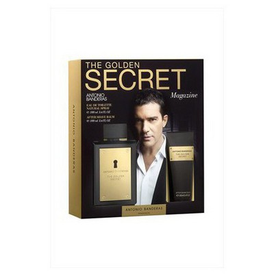Antonio Banderas  Golden Secret Edt 100 Ml+ After Shave Balsam 100 Ml Erkek Kol Saati