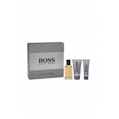 Boss Bottled Intense Edt 100 Ml+ Shower Gel 50Ml+Aftershave 75 Ml Erkek Parfümü