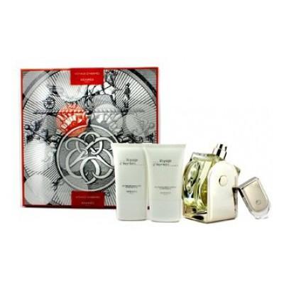 Hermes Voyage D Edt100 Ml+ 5Ml Deluxe+ Asb30Ml+Bl30Ml Erkek Parfümü