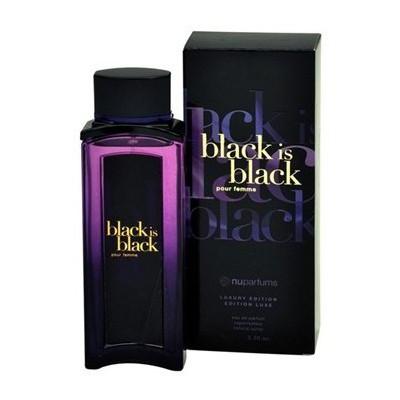 NU Black Is Black Pour Femme Edp 100ml