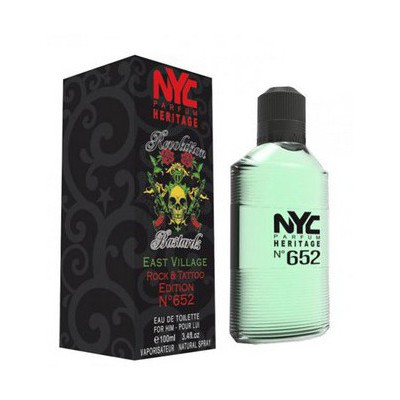 Nyc East Vıllage Rock & Tattoo Edıtıon No:652 For Hım Edt 100Ml Erkek Parfümü