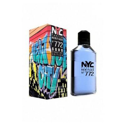 Nyc Soho Street Art Edıtıon No:772 For Hım Edt 100Ml Erkek Parfümü