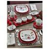 Keramika Set Kosem Kahvaltı 14 Parca Beyaz 004-kırmızı 506 Kera-mıra A Sofra Gereçleri