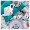 Kütahya Porselen 33 Parça 8003 Desen Kahvaltı Takımı Tabak