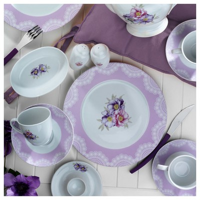 Kütahya Porselen 33 Parça 8435 Desen Kahvaltı Takımı