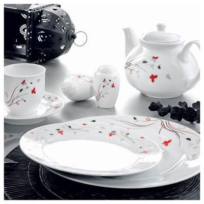 Kütahya Porselen Yasemin 38 Parça 5582 Dekor Kahvaltı Takımı