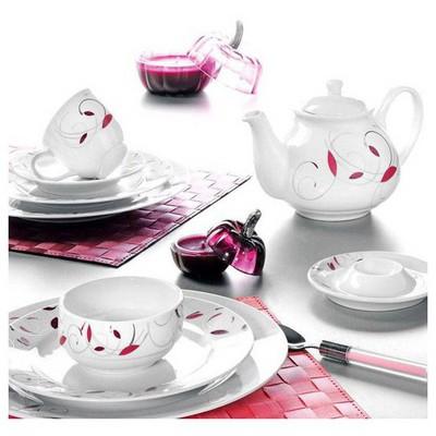 Kütahya Porselen Yasemin 38 Parça 5598 Dekor Kahvaltı Takımı
