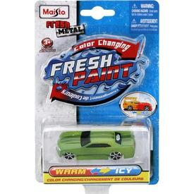 Maisto Metal Renk Değiştiren Araçlar Sport Yeşil Arabalar