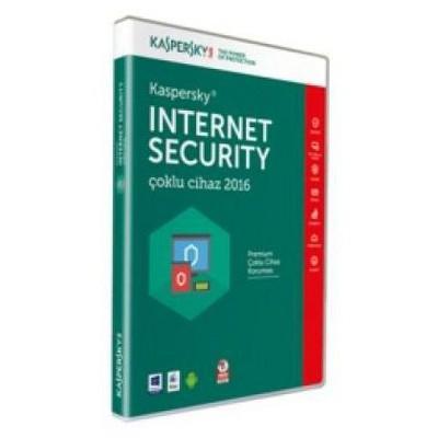 Kaspersky Int. Sec. 2016 2 Kullanıcı DVD Kutu Güvenlik Yazılımı