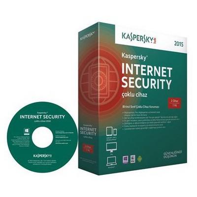 Kaspersky Internet Securıty 2015 Kıs2 Tr 2 Kull. Güvenlik Yazılımı