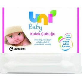 Uni Baby Gk-9470256 Bebek Kulak Çubuğu 56 Adet Bebek Bakım Ürünü