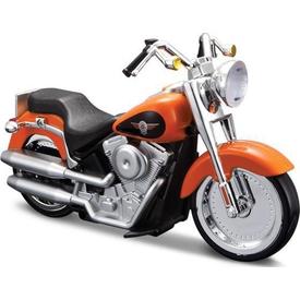 Maisto Tech Maisto Harley Davidson 2004 Flstfi Fat Boy Free Rolling Sesli Motorsiklet Erkek Çocuk Oyuncakları