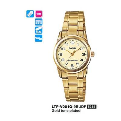 Casio LTP-V001G-9BUDF Standart Kadın Kol Saati