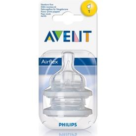 Philips Avent Philips Biberon Emziği No:1 Yeni Doğan 2'li Bebek Besleme