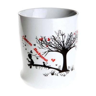 Kütahya Porselen El Yapımı Canım Babama Kupası Bardak, Kupa, Sürahi