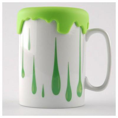 Kütahya Porselen Slikon Kapaklı Mug Bardak Bardak & Kupa