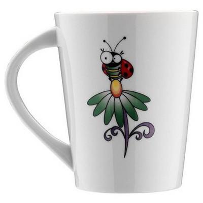 Kütahya Porselen Zıpır Böcek Kupa Bardak & Kupa