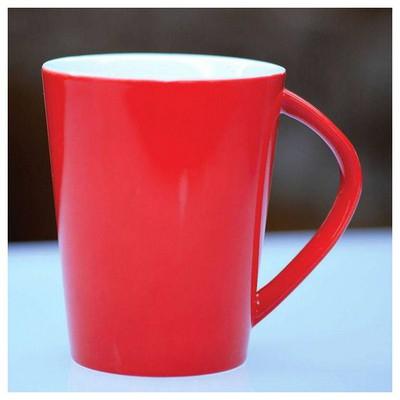 Kütahya Porselen Kırmızı Porselen Kaplama Kupa Bardak, Kupa, Sürahi