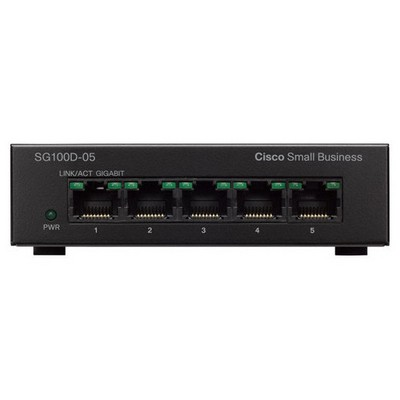 Cisco Sg110d-05-eu 5port Gigabit Switch