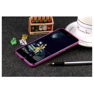 Microsonic Asus Zenfone Max 5.5 Kılıf Transparent Soft Pembe Cep Telefonu Kılıfı