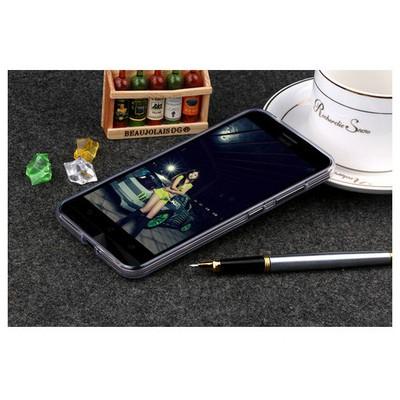 Microsonic Asus Zenfone Max 5.5 Kılıf Transparent Soft Beyaz Cep Telefonu Kılıfı