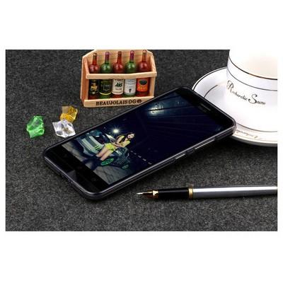 Microsonic Asus Zenfone Max 5.5 Kılıf Transparent Soft Siyah Cep Telefonu Kılıfı