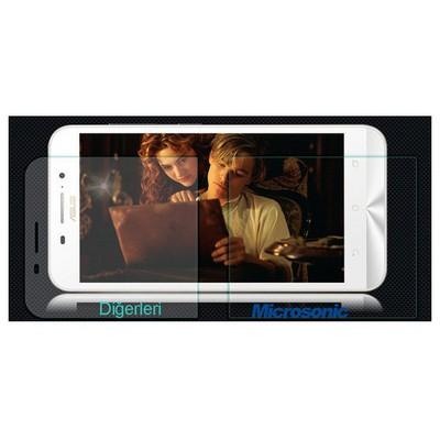 Microsonic Asus Zenfone Max 5.5 Temperli Cam Ekran Koruyucu Kırılmaz Film Ekran Koruyucu Film