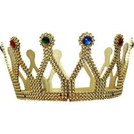 Parti Paketi Kraliçe Taç, Altın Kanat / Taç