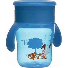 Philips Avent Philips Scf782/00 Truman Desenli Magic Alıştırma Bardağı Mavi Bebek Besleme