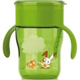 Philips Avent Philips Scf782/00 Truman Desenli Magic Alıştırma Bardağı Yeşil Bebek Besleme