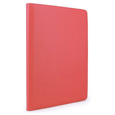 Microsonic Ipad Pro 9.7 Kılıf 360 Dönerli Stand Deri Kırmızı Tablet Kılıfı