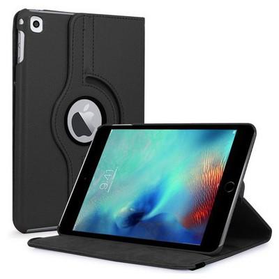 Microsonic Ipad Pro 9.7 Kılıf 360 Dönerli Stand Deri Siyah Tablet Kılıfı