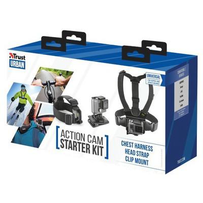 Trust 21231 Aksiyon Kameraları İçin Başlangıç Kiti Kamera Aksesuarı