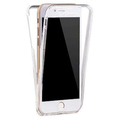 Microsonic Iphone 6s Plus Kılıf 6 Tarafı Tam Full Koruma 360 Clear Soft Şeffaf Cep Telefonu Kılıfı