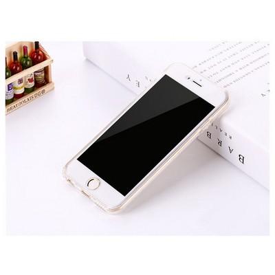 Microsonic Iphone 6s Kılıf 6 Tarafı Tam Full Koruma 360 Clear Soft Şeffaf Cep Telefonu Kılıfı