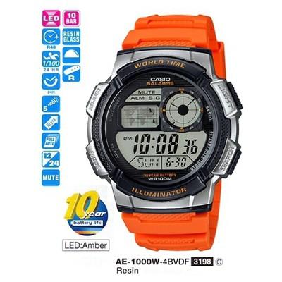 Casio AE-1000W-4BVDF Digital Erkek Erkek Kol Saati