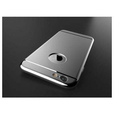Microsonic Iphone 6s Kılıf Vintage Luxury Gümüş Cep Telefonu Kılıfı