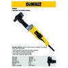 Dewalt Dw882 1800watt 150mm Profesyonel Boru Taşlama Tesisatçı Makinesi