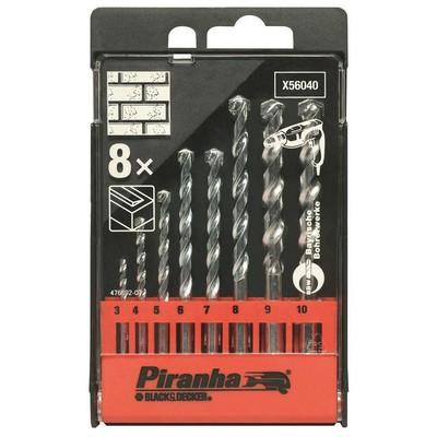 Black & Decker X56040 8 Parça Beton Matkap Ucu Seti Makine Aksesuarı