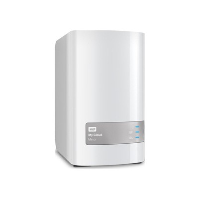 WD My Cloud Mirror 6TB NAS (WDBWVZ0060JWT)