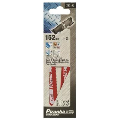 Black & Decker X22172 2 Parça Tilki Kuyruğu Testere Bıçağı Makine Aksesuarı