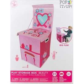Yakamoz Pop It Up Guzellik Masasi Oyuncak Saklama Kutusu Bahçe Oyuncakları