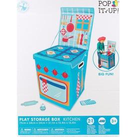 Yakamoz Pop It Up Mutfak Oyuncak Saklama Kutusu Bahçe Oyuncakları