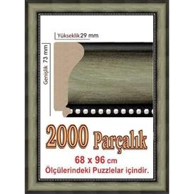 Educa Heidi 2000 Parcalik  Cercevesi 96x68 Cm 4969 Puzzle